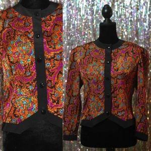 Jackets & Blazers - Caron Petite Silk Floral Design Blazers (10)